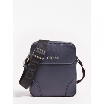 Guess Maroquinerie - MINI SAC REPORTER MANHATTAN - Maroquinerie guess homme