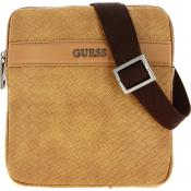 Guess Maroquinerie - NEW MILANO MINI FLAT CROSSBODY - Promotions Maroquinerie HOMME