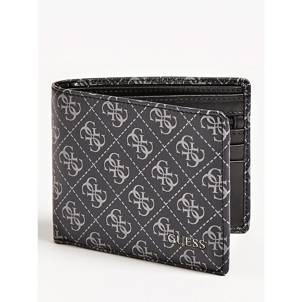 Portefeuille avec porte monnaie Manhattan logo Plus d'infos