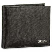 Guess Maroquinerie - Portefeuille Uptown Cuir Saffiano - Portefeuille homme guess