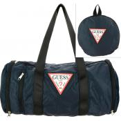 Guess Maroquinerie - Sac Bowling JUST4FUN Logoté - Maroquinerie guess homme