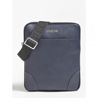 Guess Maroquinerie - SAC PORTE CROISE PLAT MANHATTAN - Maroquinerie guess homme