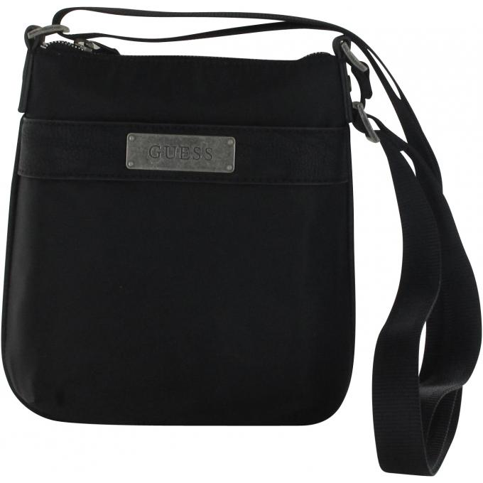 sac a bandouliere ajustable mini crossbody flat guess maroquinerie pochette sacoche homme. Black Bedroom Furniture Sets. Home Design Ideas