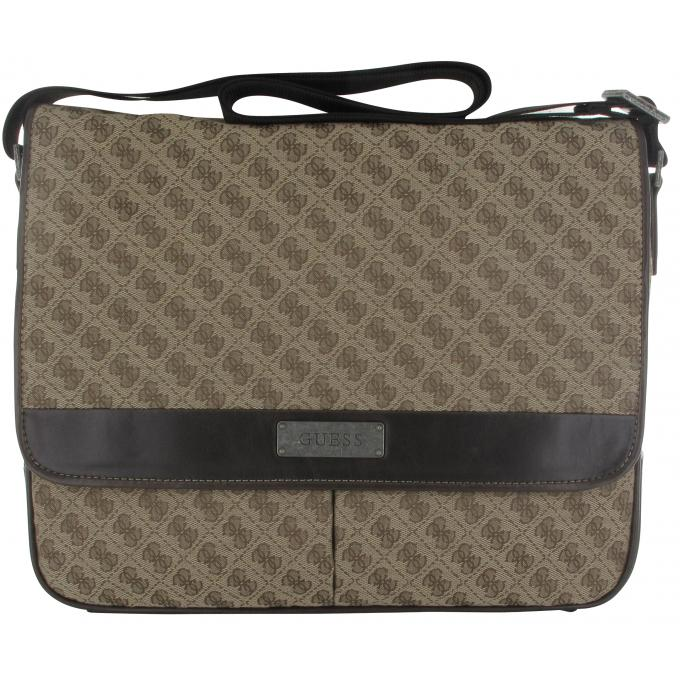 Guess Monogramme Maroquinerie Sac Big Messenger Sacoche Homme 0wy8nmNvO