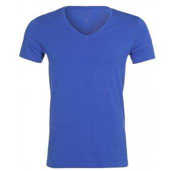 T-SHIRT COL V MANCHES COURTES Guess
