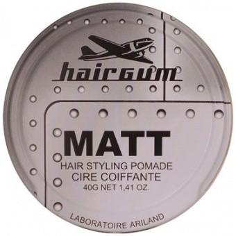 Hairgum Homme - HAARWACHS MATT WAX - Halt ohne Glanz -