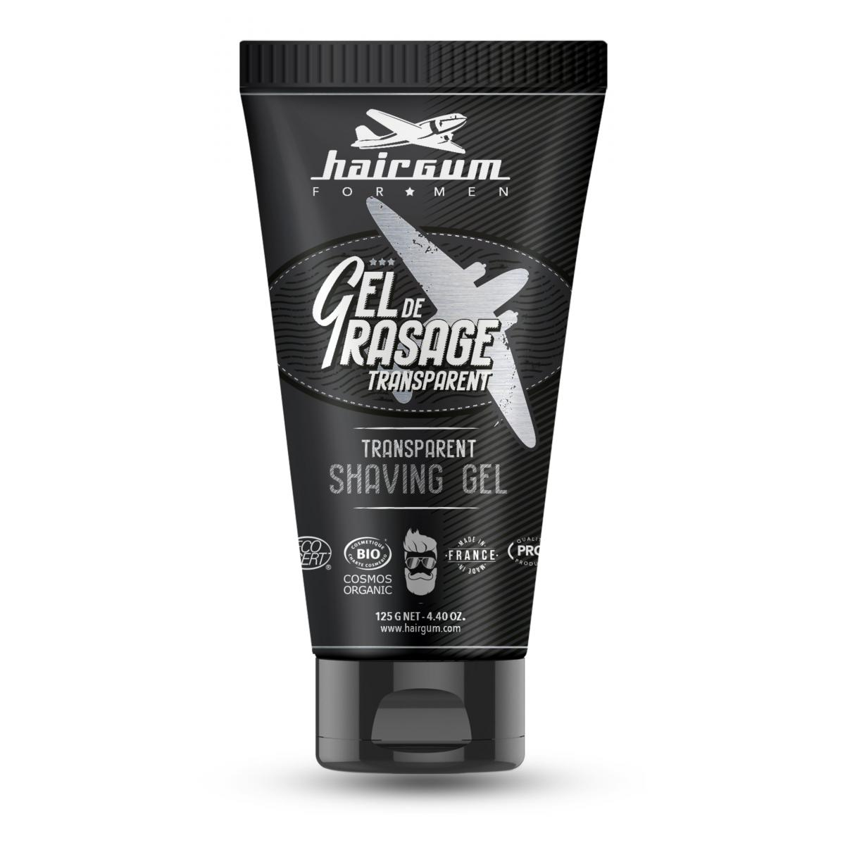 Gel de rasage transparent Hairgum