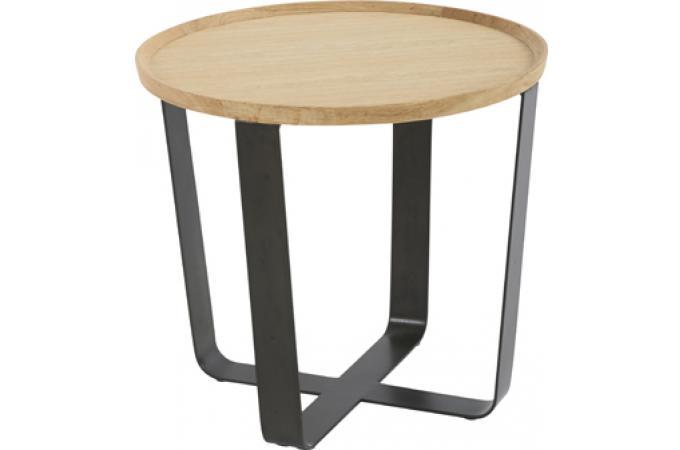 Bout de canap rond dilla table d 39 appoint pas cher - Bout de canape pas cher ...