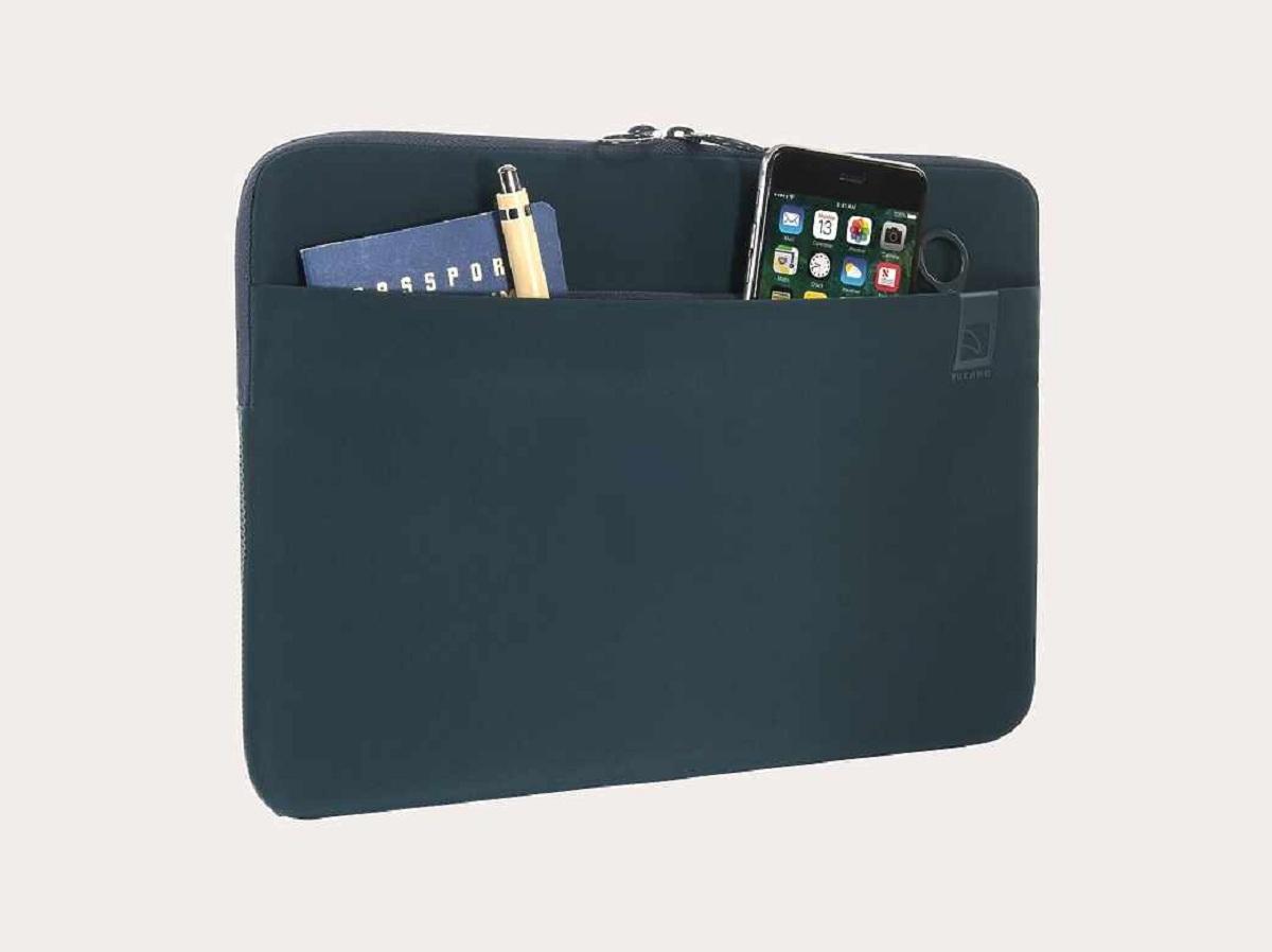 housse top second skin macbook pro 13 2016 bleu