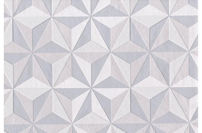 papier peint origami graphic cube gris clair papier peint ville pas cher. Black Bedroom Furniture Sets. Home Design Ideas