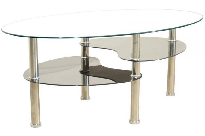 Table Basse Noir Et Blanche Estoy Table Basse Pas Cher