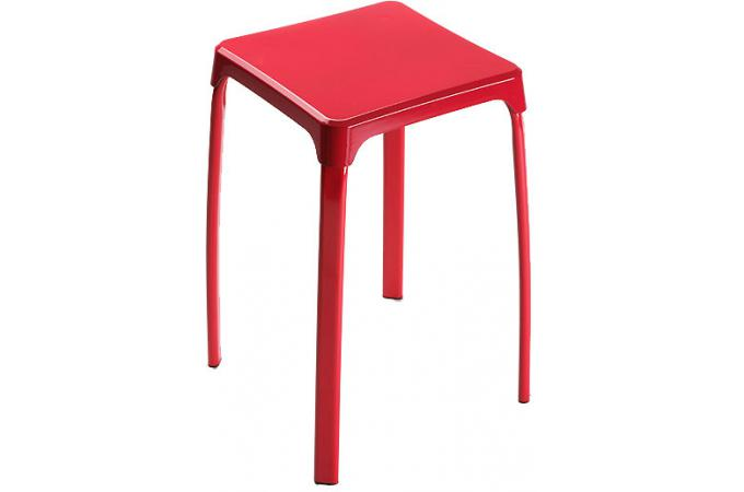 tabouret de bain rouge petit tabouret pas cher. Black Bedroom Furniture Sets. Home Design Ideas