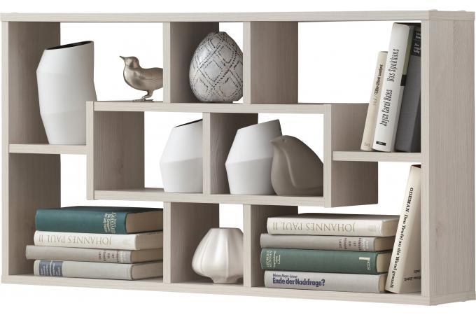tag re murale 8 cases m l ze etag re pas cher. Black Bedroom Furniture Sets. Home Design Ideas