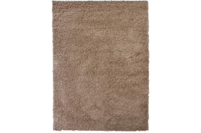 tapis 100 polypropylene shaggy epaisseur 4cm 140x200 beige tapis shaggy pas cher. Black Bedroom Furniture Sets. Home Design Ideas