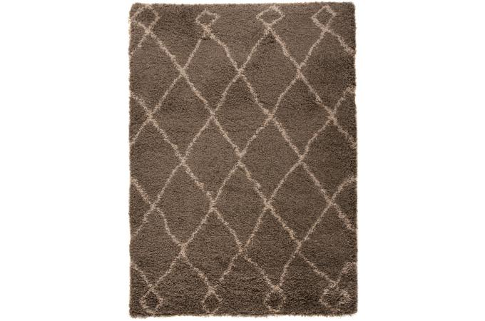tapis 100 polypropylene zumba 120x170 gris clair tapis shaggy pas cher. Black Bedroom Furniture Sets. Home Design Ideas