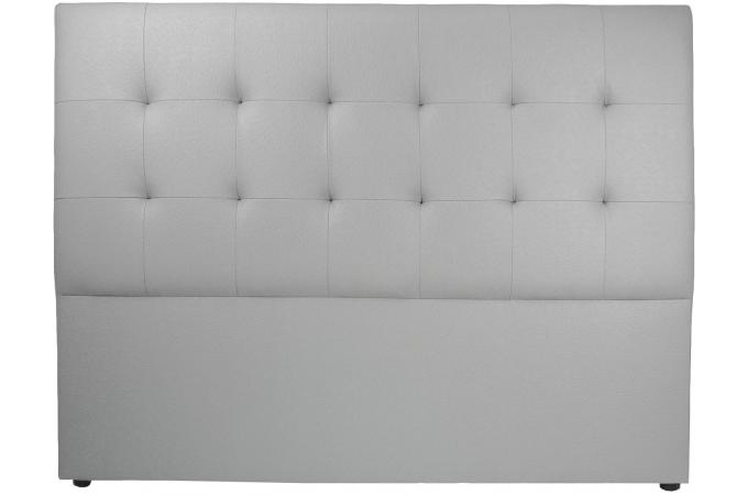Tete de lit 160 gris b ton t te de lit pas cher - Tete de lit grise 160 ...