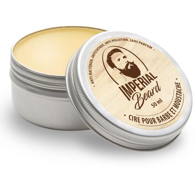 cire pour barbe moustache nourrit et fa onne imperial beard entretien de la barbe homme. Black Bedroom Furniture Sets. Home Design Ideas