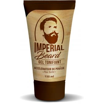 Imperial Beard - Gel tonifiant pousse pour barbe - Soin rasage homme