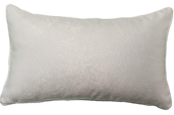 coussin rectangulaire blanc en polyester joanna coussin pas cher. Black Bedroom Furniture Sets. Home Design Ideas