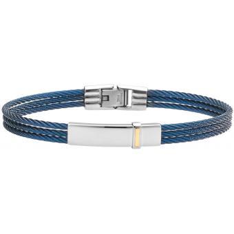 Bracelet Acier Bicolore - Jourdan Bijoux - Jourdan