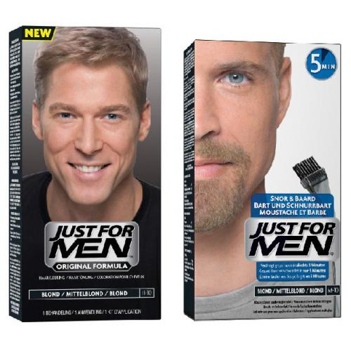 DUO COLORATION CHEVEUX & BARBE Blond