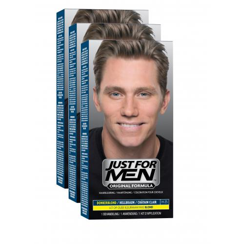 Just For Men - COLORATIONS CHEVEUX Châtain Clair - Soin cheveux homme