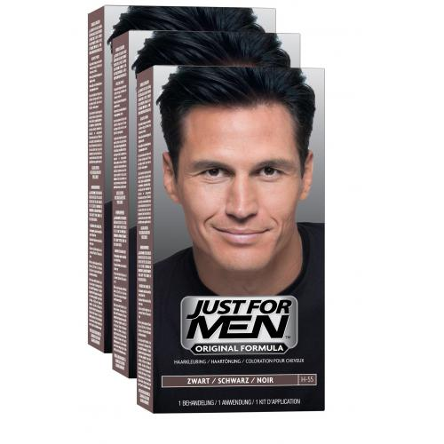 Just For Men - COLORATIONS CHEVEUX Noir Naturel - Black Week Mencorner