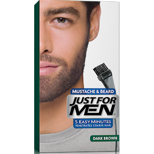 Just For Men - COLORATION BARBE Châtain Foncé - Rasage homme