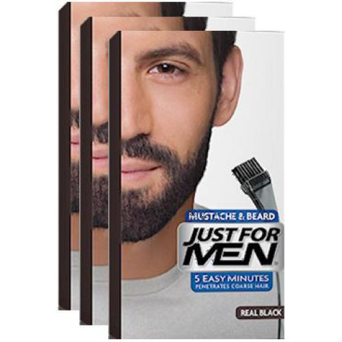 Just For Men - COLORATIONS BARBE Noir Naturel - Black Week Mencorner