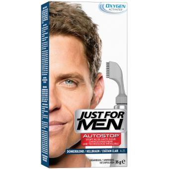 Just For Men - AUTOSTOP Châtain Clair - Coloration just for men