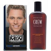 Just For Men Homme - COLORATION CHEVEUX & SHAMPOING Châtain Clair -  - JUST FOR MEN