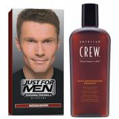 Just For Men Homme - COLORATION CHEVEUX & SHAMPOING Châtain -
