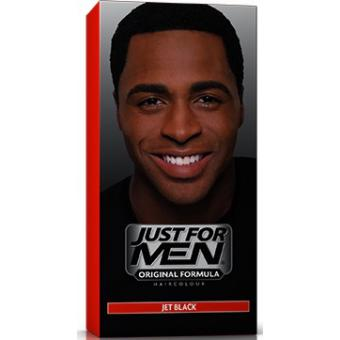 Just For Men - COLORATION CHEVEUX HOMME Noir Intense - Coloration just for men