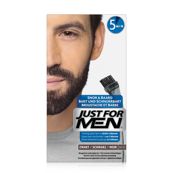 Just For Men - COLORATION BARBE Noir Naturel - Coloration just for men