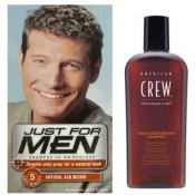 Just For Men - COLORATION CHEVEUX & SHAMPOING Châtain Cendré - Shampoing HOMME