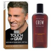 Just For Men - COLORATION CHEVEUX & SHAMPOING Gris Châtain - Shampoing homme