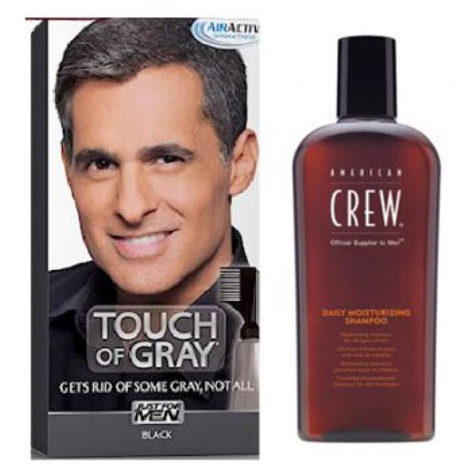 coloration cheveux shampoing gris noir pack just for men shampoing homme. Black Bedroom Furniture Sets. Home Design Ideas