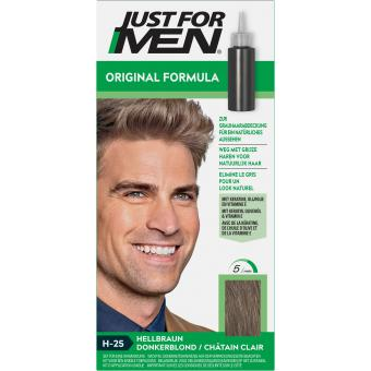 Just For Men - COLORATION CHEVEUX HOMME - Châtain Clair - Coloration just for men
