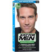 Just For Men - COLORATION CHEVEUX HOMME - Châtain Moyen Clair - Coloration cheveux homme barbe
