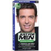 Just For Men - COLORATION CHEVEUX HOMME - Châtain Moyen Foncé - Coloration Cheveux/ Barbe HOMME