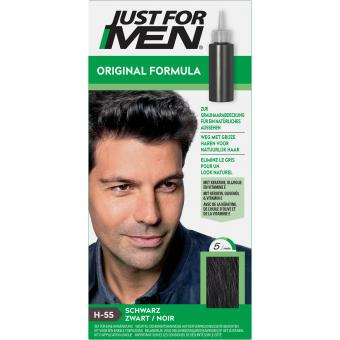 Just For Men - COLORATION CHEVEUX HOMME Noir - Coloration just for men