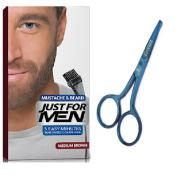 Just For Men - PACK COLORATION BARBE CHATAIN ET CISEAUX A BARBE - Promotions