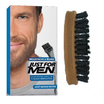 Just For Men - PACK COLORATION BARBE & BROSSE A BARBE - Coloration just for men