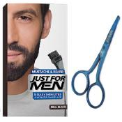 Just For Men - PACK COLORATION BARBE NOIR NATUREL ET CISEAUX A BARBE - Promotions