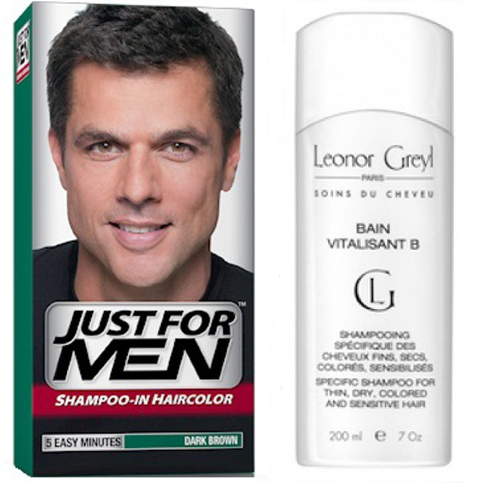homme coloration cheveux shampoing chatain fonce pack just for men - Just For Men Coloration Cheveux Homme