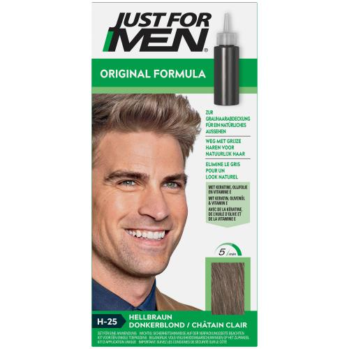 Just For Men - COLORATION CHEVEUX HOMME - Châtain Clair - Sélection Stay at Home