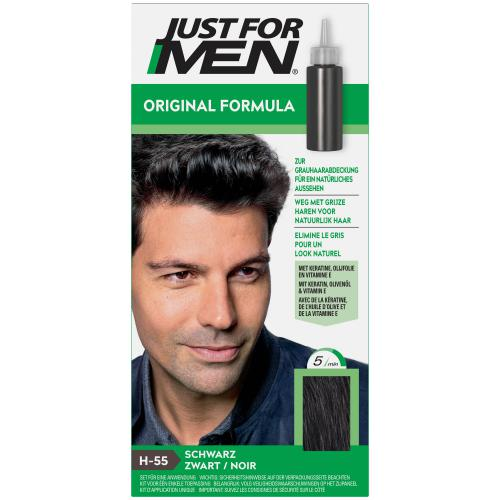 Just For Men - COLORATION CHEVEUX HOMME Noir - Sélection Stay at Home
