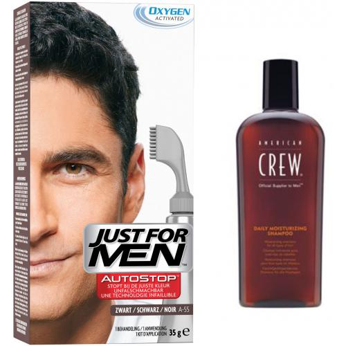 Just For Men - PACK AUTOSTOP & SHAMPOING Noir - Coloration just for men