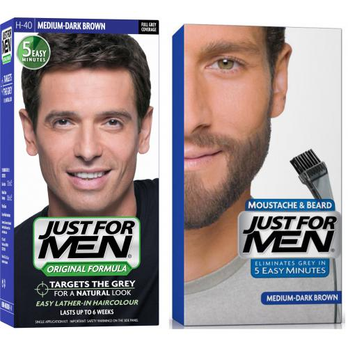 Just For Men - PACK COLORATION BARBE & CHEVEUX