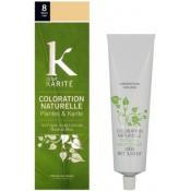 K Pour Karite Homme - COLORATION NATURELLE BLOND CLAIR N°8 - Coloration Cheveux/ Barbe